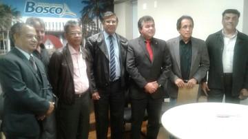 Reunião com o deputado estadual Bosco