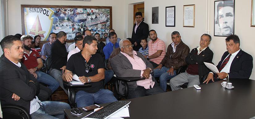 Reunião diretoria e comando de greve