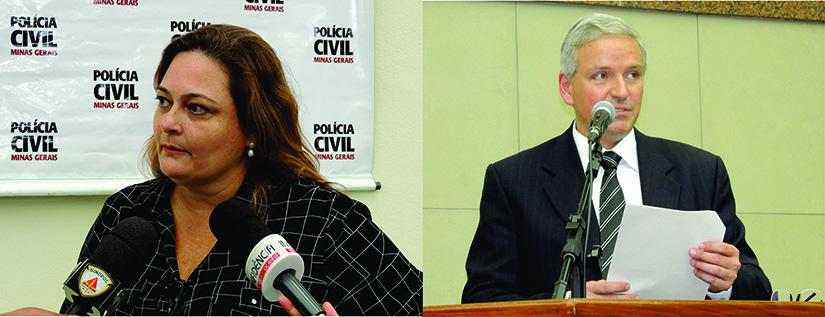 Dra. Andrea Claudia Vacchiano e Dr. João Octácilio Silva Neto